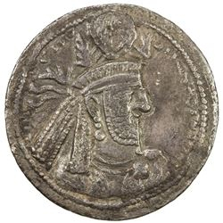 SASANIAN KINGDOM: Narseh, 293-303, AR drachm (4.03g). F-VF
