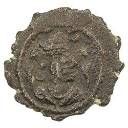 SASANIAN KINGDOM: Kavad, 488-497, 499-531, AE pashiz (0.79g). VF