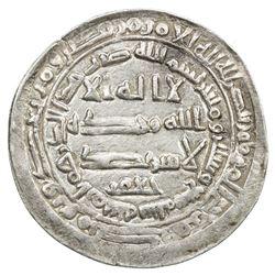ABBASID: al-Mu'tamid, 870-892, AR dirham (3.01g), Arminiya, AH269. VF-EF