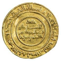 FATIMID: al-Mustansir, 1036-1094, AV dinar (4.17g), Misr, AH436. VF