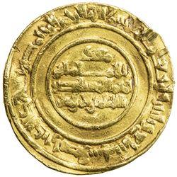 FATIMID: al-Mustansir, 1036-1094, AV dinar (3.84g), Misr, AH437. VF