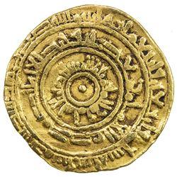 FATIMID: al-Mustansir, 1036-1094, AV dinar (3.83g), Dimashq, AH446. F-VF