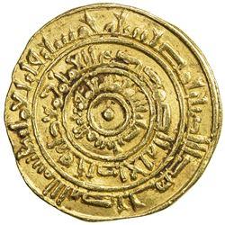 FATIMID: al-Mustansir, 1036-1094, AV dinar (4.13g), Misr, AH450. VF