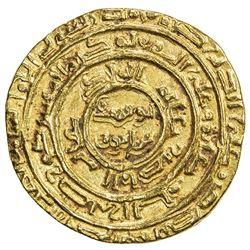 AYYUBID: al-Nasir Yusuf I (Saladin), 1169-1193, AV dinar (5.18g), al-Qahira, AH572. VF