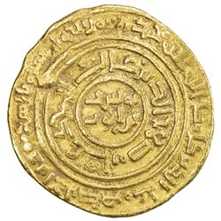 AYYUBID: al-Nasir Yusuf I (Saladin), 1169-1193, AV dinar (4.51g), al-Qahira, AH589. F
