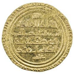 AYYUBID: Abu Bakr I, 1196-1218, AV dinar (4.95g), al-Iskandariya, DM. EF