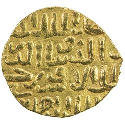 BAHRI MAMLUK: Sha'ban II, 1363-1376, AV dinar (4.25g), MM, DM. VF