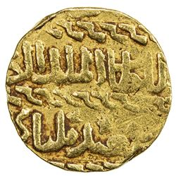 BURJI MAMLUK: Bilbay, 1467, AV ashrafi (3.38g), NM, ND. F-VF