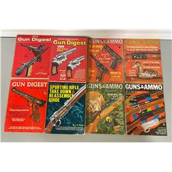 QTY OF VINTAGE FIREARMS REFERENCE BOOKS