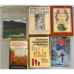 LOT OF HUNTING & FISHING BOOKS