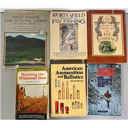 LOT OF HUNTING & FISHING BOOKS
