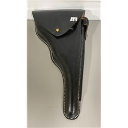 "10"" LEATHER HOLSTER - AS NEW"