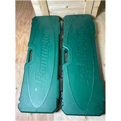 LOT OF 2 REMINGTON HARD CASES