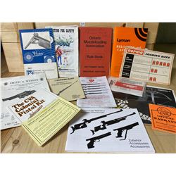 LOT OF VINTAGE 'SHOOTING' MANUALS