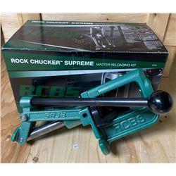 RCBS ROCK CHUCKER SUPREME RELOADER - A12