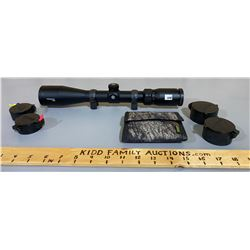 BUSHNELL TROPHY 2.5 - 10 X 44 SCOPE W/ SCOPE RINGS - CLEAR VISIBILITY