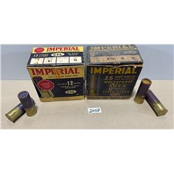 32 X MIXED 12 GA - VINTAGE IMPERIAL BOXES