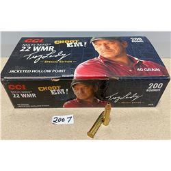200 X CCI .22 WMR 40 GR - SPL EDITION BOX
