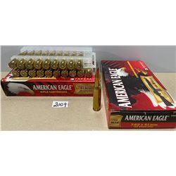 40 X AMERICAN EAGLE 7.62 X 51 168 GR