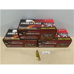 150 X AMERICAN EAGLE .22 HORNET 35 GR