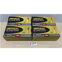 200 X IMPERIAL .22 LR