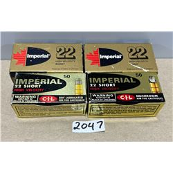 200 X IMPERIAL .22 S