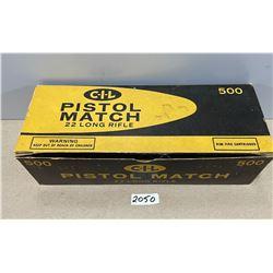 500 X CIL PISTOL MATCH .22 LR