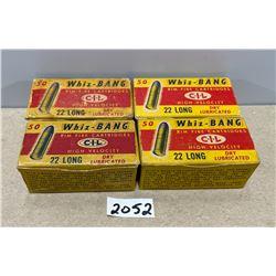 200 X WHIZ-BANG .22 L