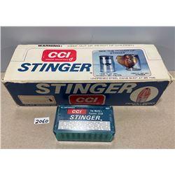 500 X CCI STINGER .22 LR