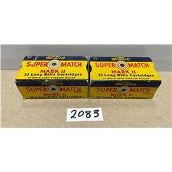 100 X WESTERN SUPER MATCH .22 LR