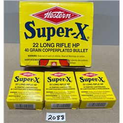 120 X WESTERN SUPER X .22 LR HP