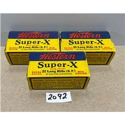 150 X WESTERN SUPER X .22 LR (HP)