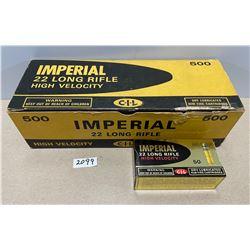 500 X IMPERIAL .22 LR