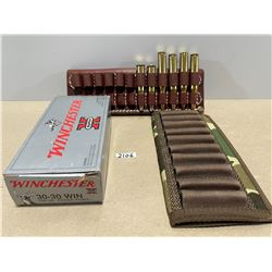 22 X WINCHESTER .30-30. 4 X .270 & SHELL HOLDERS