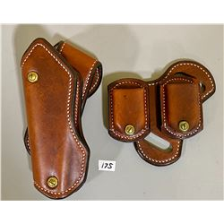 LEATHER HOLSTER & MAG HOLDER