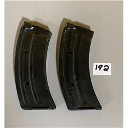 LOT OF 2 WINCHESTER 490 .22 LR - 10 RND MAGS