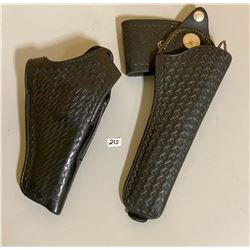 B 500 94 W LEATHER HOLSTER & R 22 6 LEATHER HOLSTER