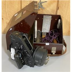 WWII RCAF CASED BUBBLE SEXTANT - MARKED 1957 - COMPLETE