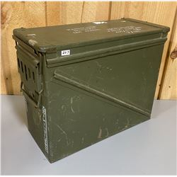 GULF WAR - 2.75 INCH ROCKET WARHEADS AMMO CAN
