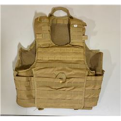 MOLLE GREEN PLATE CARRIER - NEW