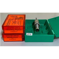 LYMAN .44 DIE & LEE 7 MM / .308 WIN CRIMP DIES
