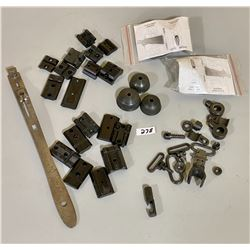 MISC GUN PARTS - SLING SWIVELS, MOUNTS, HAMMER EXT, SPACERS, ETC.