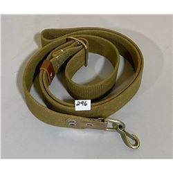 1968 SOVIET RUSSIAN CANVAS AK-47 MACHINE GUN SLING - VG CONDITION