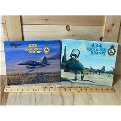 433 & 434 SQUADRON HISTORY BOOKS