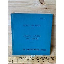 RCAF LOG BOOK