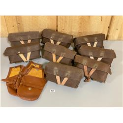 LOT OF 7 SKS AMMO POUCHES
