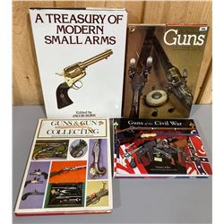 LOT OF 4 FIREARMS REFERENCE BOOKS
