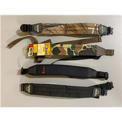 LOT OF 4 RIFLE SLINGS = REDHEAD / GRIZZLY / UNCLE MIKE'S