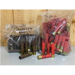 LOT OF 150 X WINCHESTER / FEDERAL 10 GA 3 1/2 INCH SHELLS - ONCE FIRED