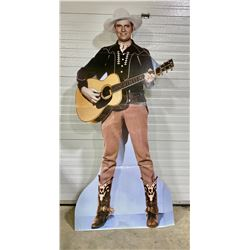LIFE SIZE CARDBOARD CUTOUT OF 'GENE AUTRY'